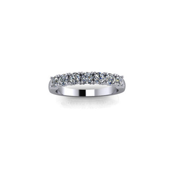PLATINUM CLAW SET DIAMOND RING