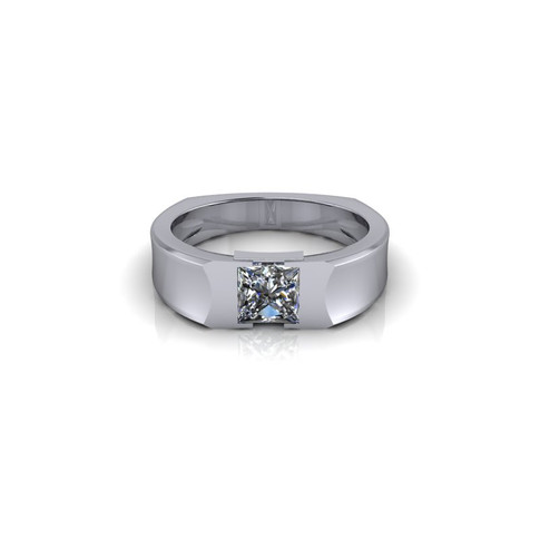 DIAMOND SOLITAIRE BAND