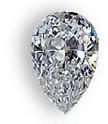 best value pear shaped custom ring