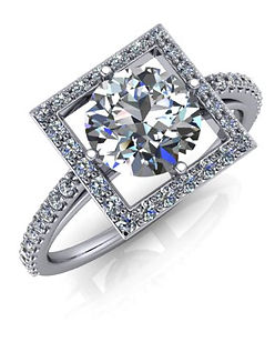 Diamond guide to design your own diamond ring