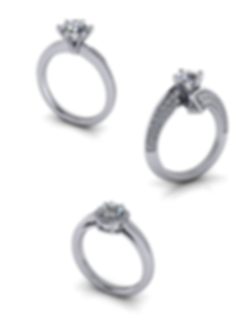 GIA diamonds for custom ring design appointment