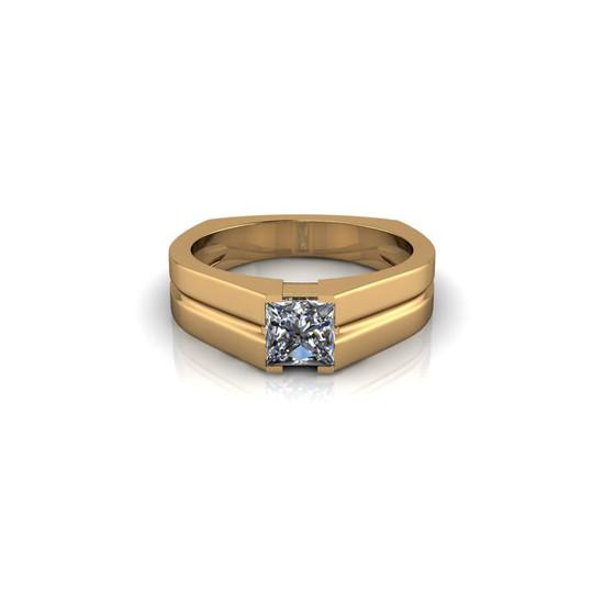 DIAMOND SOLITAIRE BAND