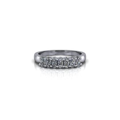 DIAMOND OVAL ETERNITY BAND