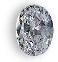 Oval shaped diamond for your custom ring