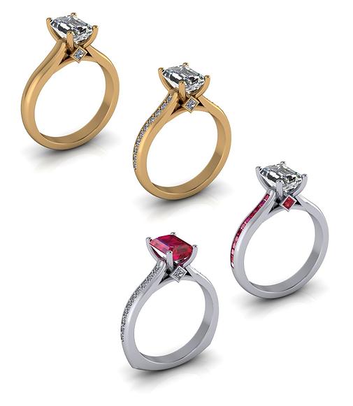 Bespoke custom ring designers