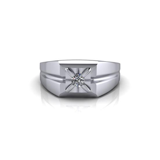 PLATINUM DIAMOND BAND