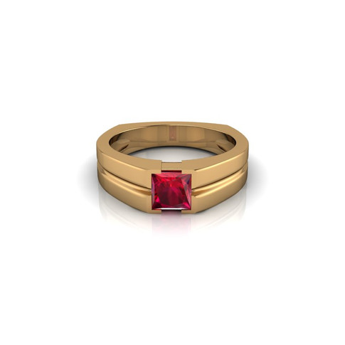 RUBY SOLITAIRE BAND