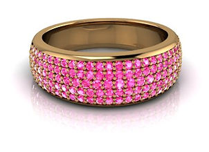 design your own ring with coloured diamonds