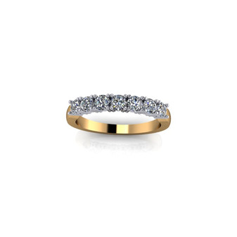 PRONG -SET ETERNITY BAND