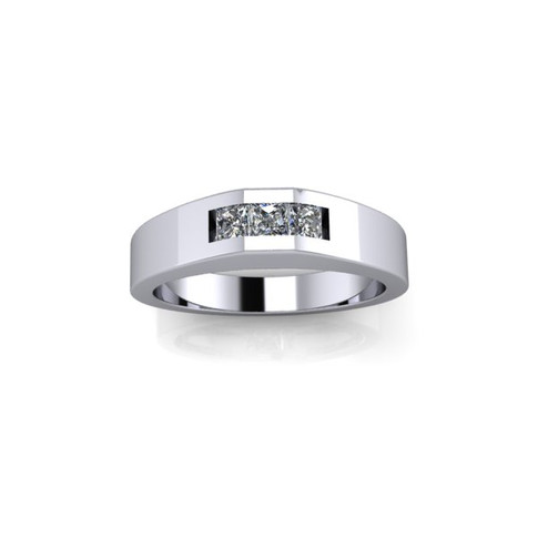 MEN'S TRIO DIAMOND RING