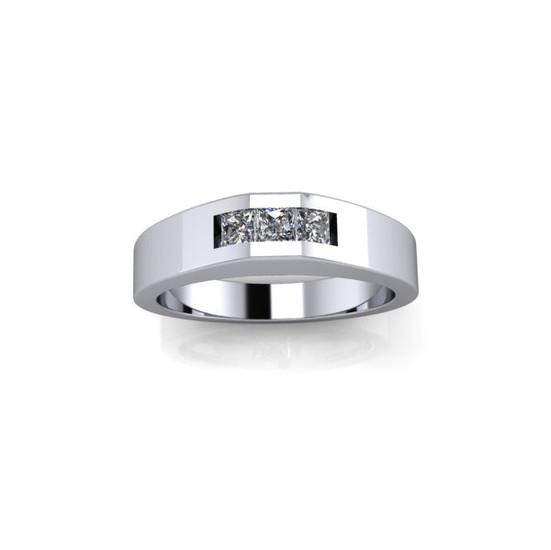 MEN'S TRIO DIAMOND RING