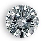 round brilliant diamond for your custom ring