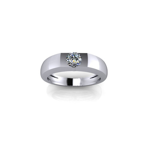 SINGLE DIAMOND BAND