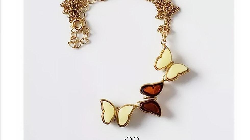 Collar Mariposas