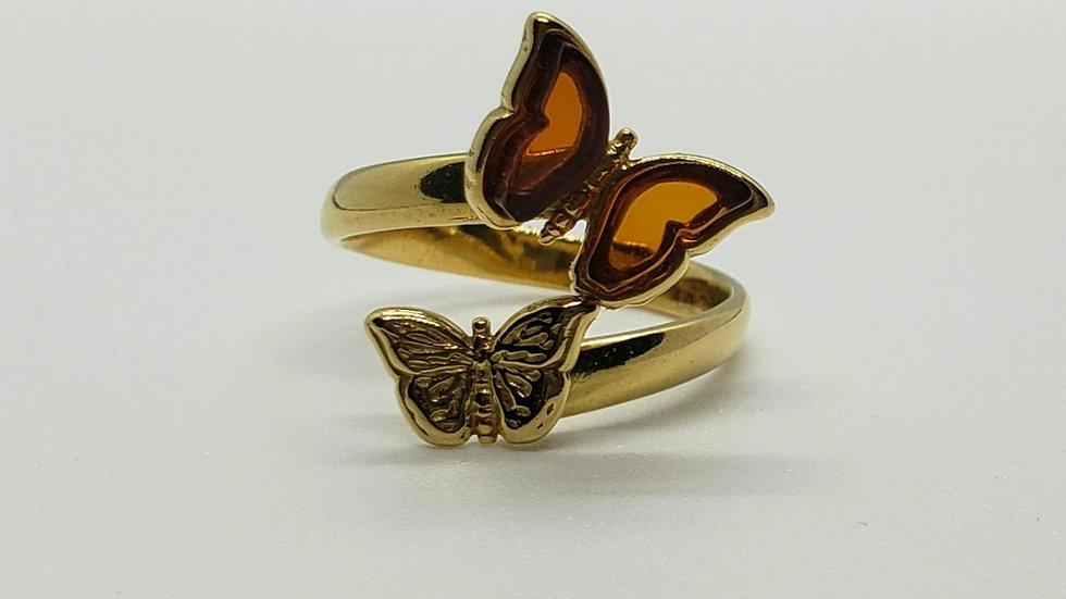 Anillo Mariposas M