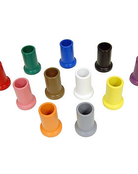 Set of 11 Colored Pencil Holders.jpg