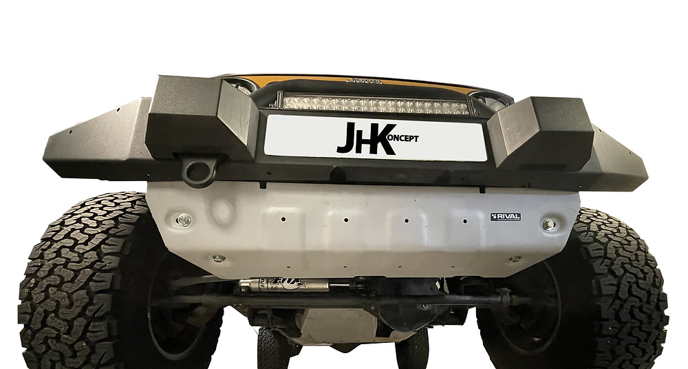 blindage avant Jeep Wrangler JK rival essai