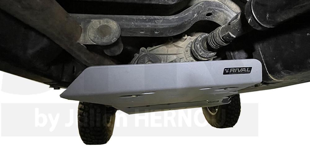 blindage boite de transfert jeep wrangler rubicon