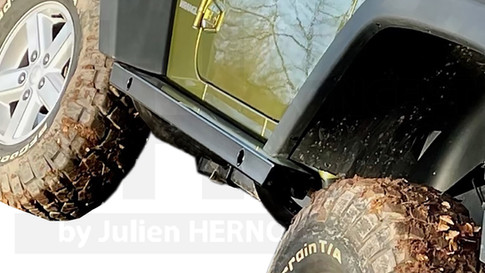 PROTECTIONS LATERALES JEEP WRANGLER JK
