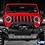 Thumbnail: PARE CHOCS AV RIVAL sans LED Wrangler JK/ Wrangler JL/JT (port inclus)