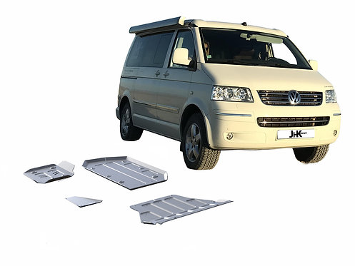 PACK 4 BLINDAGES RIVAL 6mm VOLKSWAGEN T5   4Motion EURO4