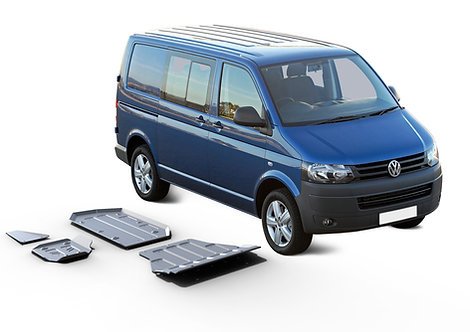 PACK 4 BLINDAGES RIVAL 6mm VOLKSWAGEN T5 4Motion EURO5