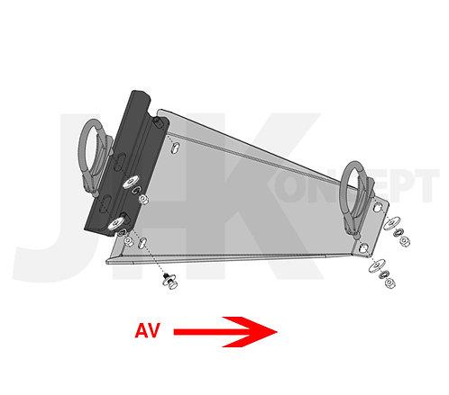 Blindage ECHAPPEMENT RIVAL Volkswagen T5/T6 2M/4Motion (port inclus)