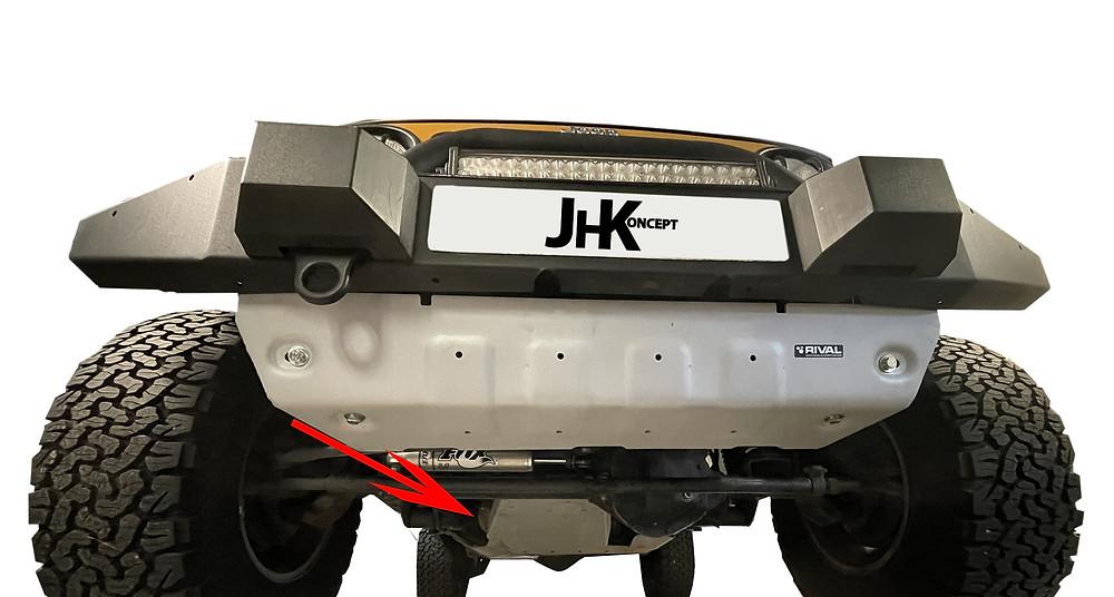 blindage rival pour jeep