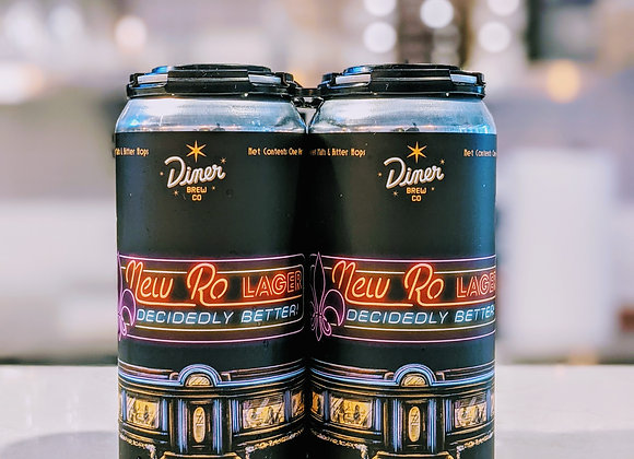 New Ro Lager 16oz Can 4 Pack