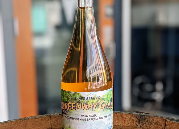 Greenway Gold Chardonnay Cider 750ml Bottle
