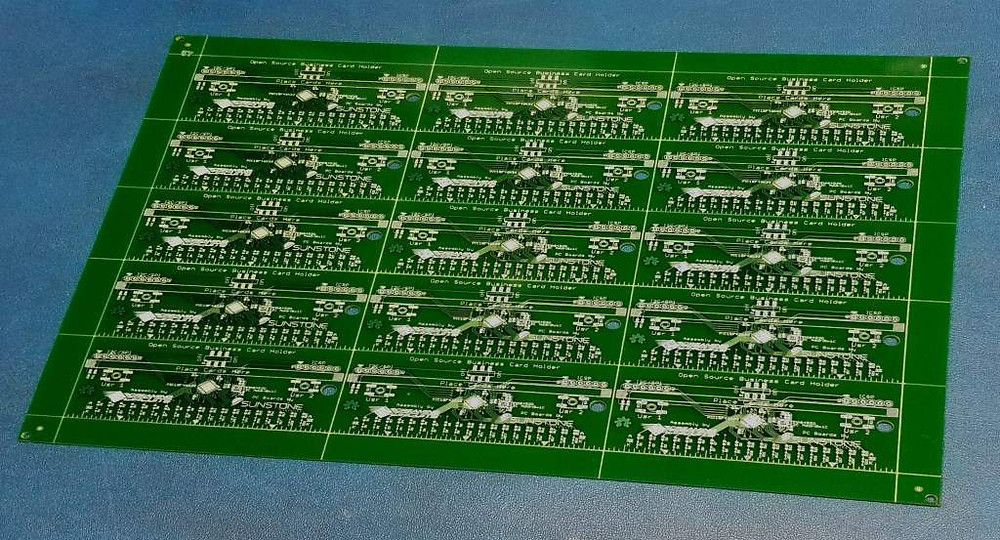 A shot of PCB panelization