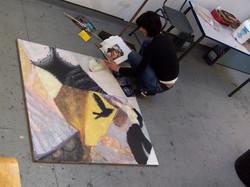 Painting module