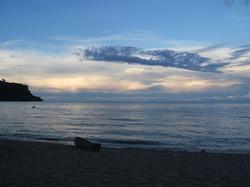 Dusk at Ruarwe Beach