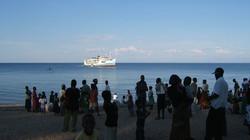 Ilala on route to Monkey Bay
