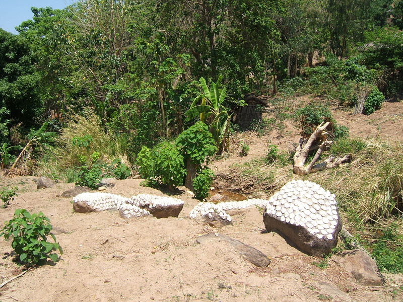 Cassava Drying in the Sun