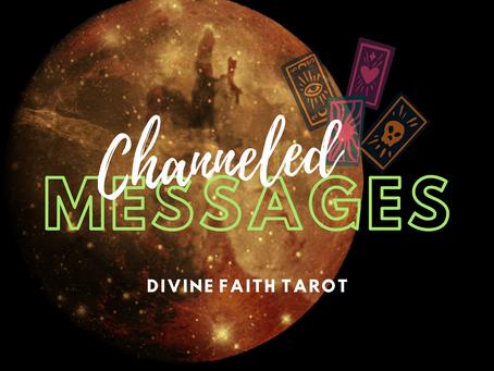 Channeled Messages Nov 13-15
