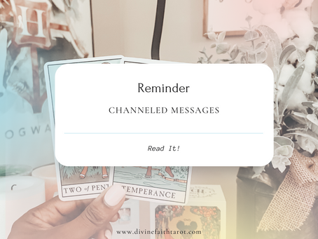 Channeled Messages