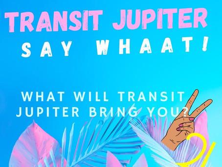 TRANSIT JUPITER, is that you?
