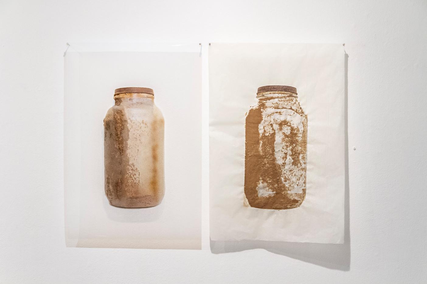 Large Jar (Immitation, Somewhat Missing The Mark)