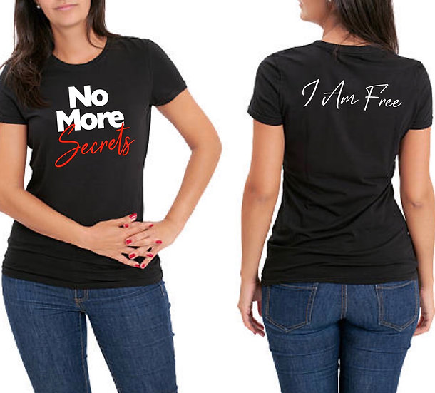 Women's No More Secrets T-Shirt