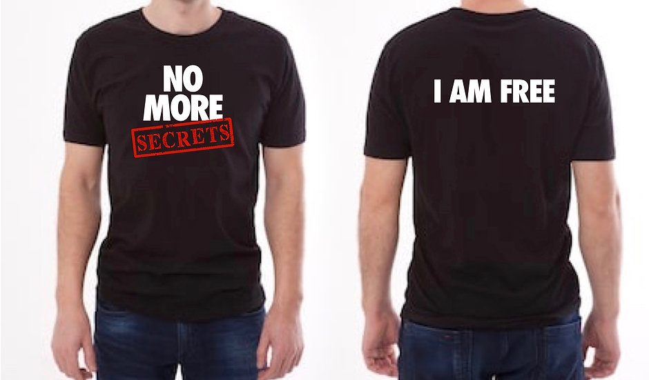 Men's No More Secrets T-Shirt