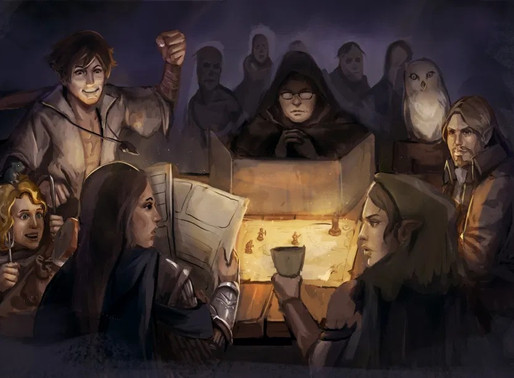 RPG | 5 motivos pelos quais você deveria jogar RPG de mesa
