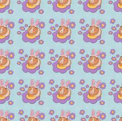 guinea pig bunny pattern