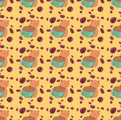 guinea pig coffee pattern