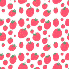 pink strawberry pattern