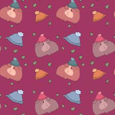 guinea pig beanie pattern