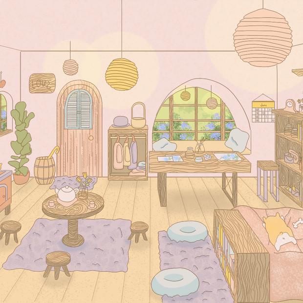 Cherry Blushing Cottage (Interior)