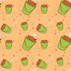 guinea pig bucket pattern