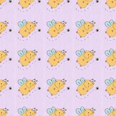 guinea bee pattern