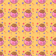 guinea pig beach ball pattern